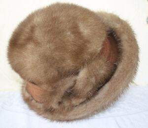 Women's Mink Fur Hat by Kates in Original Box Size Large London Ontario image 1