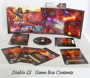 Diablo III, Computer Game, 2012, action game, for 1-4 people