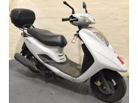 2013 63 YAMAHA XC 125 E VITY LEARNER LEGAL WHITE SCOOTER PROJECT TRADE SALE CATC