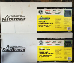 *Brand New* Triple bagger systems for riding mowers Kitchener / Waterloo Kitchener Area image 3