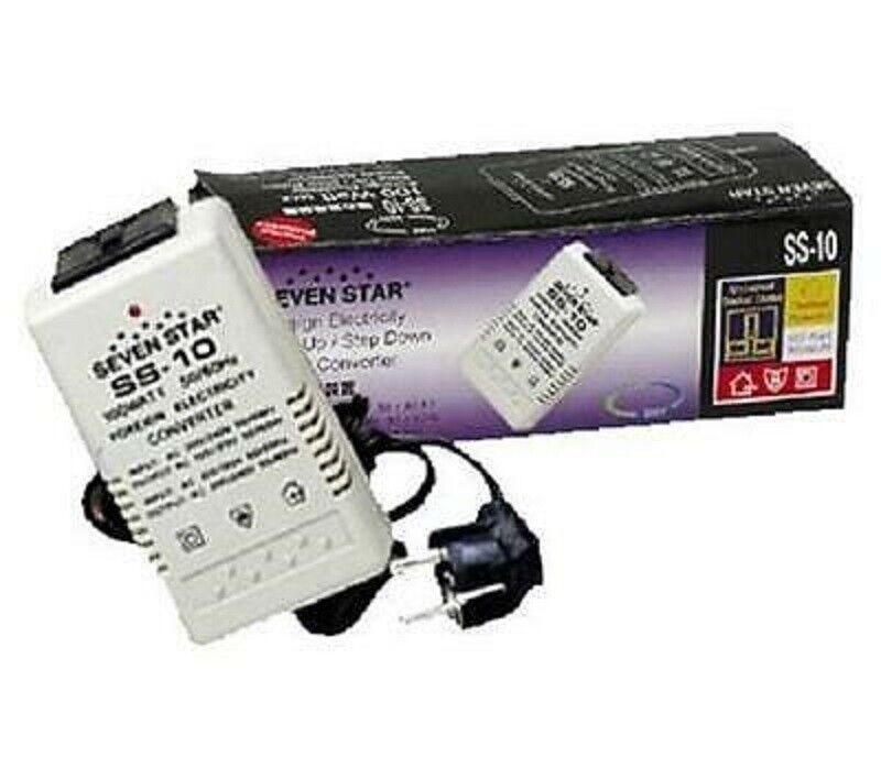 Seven Star 100 Watt 110v 220v AC Travel Voltage Converter To