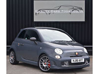 2016 Abarth 500 1.4 Tjet ( 180bhp ) 595 Competizione Circuit Grey + Full Leather