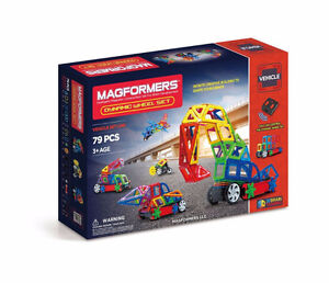 Magformers Amazon Exclusive Dynamic Wheel Set (79 Pieces)
