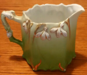 Vintage Creamer With Snowdrops F/S
