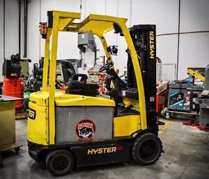 Hyster-24 E60XN-33 Forklift - SN A26N07126J - Year 2011 Inc Attachment