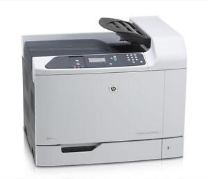 HP Color Laserjet CP6015dn printer - Page Count 126660
