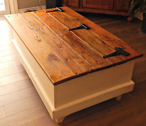 Chest Style Coffee Table