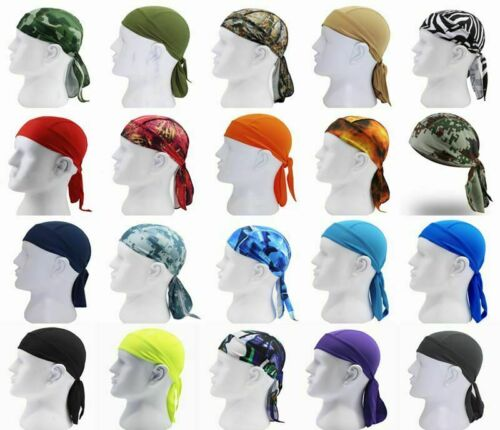 Durag Du-rag Headwear Head Wrap Skull Cap Doo Do Rag Bandana Headband Beanie Hat