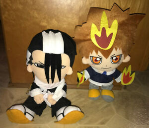 "Manga Bleach Plush Anime Characters 13-15""  $15 ea $25 both"