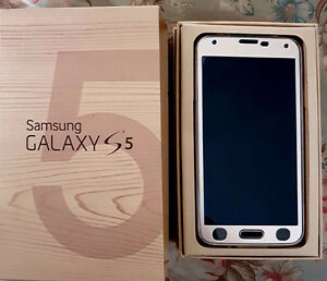 Samsung Galaxy S5 - Rare Gold Color