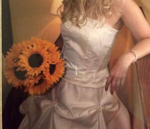 Hand Made, Originally Designed Wedding Dress