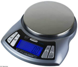 2kgx0.1g electronic industrial weigh scale with bowl and tray