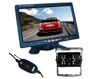 Wireless Car Backup Camera with  7 inch HD Monitor for Sale