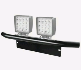 4x4 Number Place Bull Bar Light Mounting Bracket