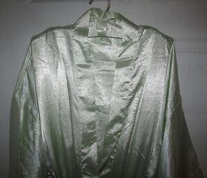 MINT GREEN Satin Robe, Chemise & Hanger Gift Set - SMALL Gatineau Ottawa / Gatineau Area image 2