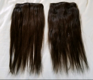 20 inch chocolate brown hair extensions (Irresistible Me weft)