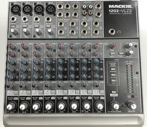 MACKIE 1202 VLZ-3 Compact 12 Channel PA DJ Mixer (Reduced)