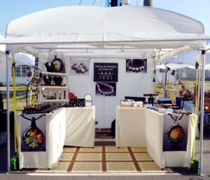 Trade Show Display Tent/Canopy for Art Display