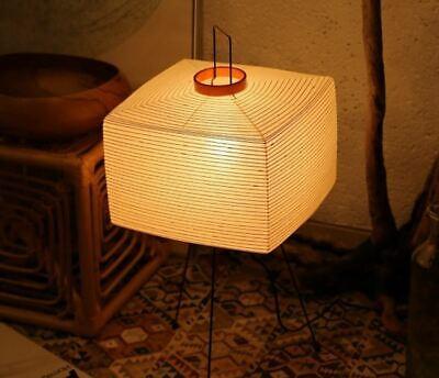 Isamu Noguchi AKARI Lantern 7A Floor Stand Lamps Handcraft Authentic