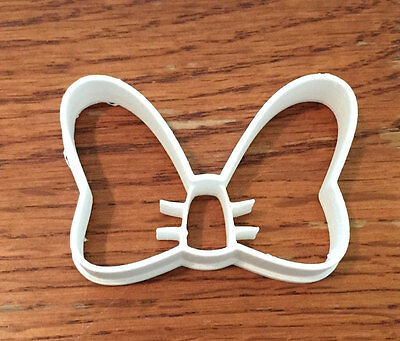 Minnie Mouse Bow cookie and fondant cutter - US SELLER!!](Minnie Mouse Bow Cookie Cutter)