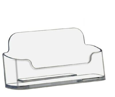 Display Your Business Acrylic Business Card Holder Clear Display Stand