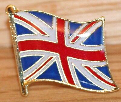 UK BRITAIN UNION JACK Flag Metal Lapel Pin Badge *NEW*