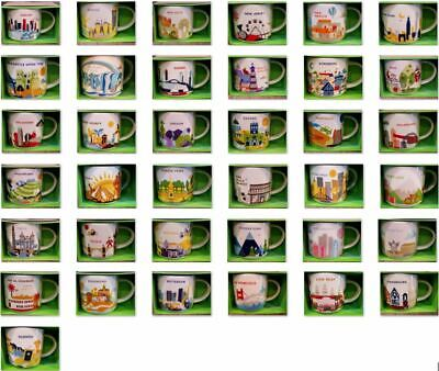 U PICK- Starbucks Mug YOU ARE HERE YAH Collector Series Mugs N-R 14oz new w/SKU