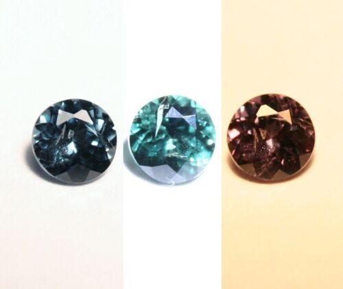 0.205ct Blue Colour Change Garnet Bekily Madagascar Worlds Rarest Garnet 3x3mm