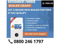 Free government boiler and heating grants