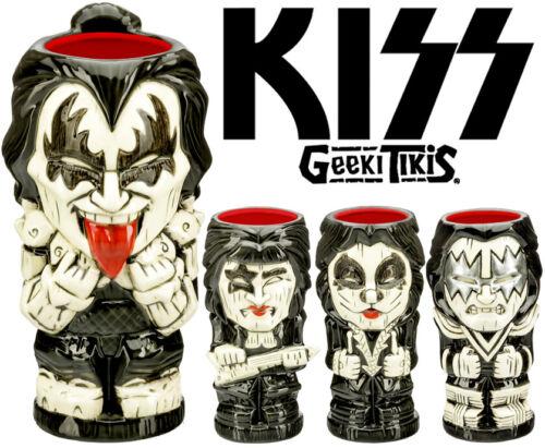 Geeki Tikis KISS 19oz-22oz Ceramic Tiki Mug SET