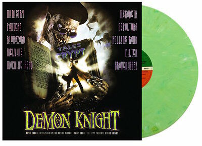 Tales From The Crypt Presents: Demon Knight GREEN LP Soundtrack Metal Vinyl