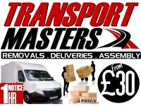 £30/HR MAN & VAN REMOVALS DELIVERY IKEA SOFA WARDROBE DINING TABLE FRIDGE LEATHER BED FRIDGE RUBBISH
