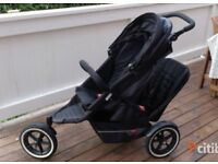 Phil and ted double pushchair. Phil&ted double buggy . Pram . Stroller