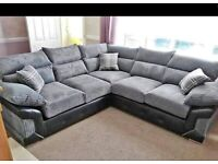 BRAND NEW LOGAN CORNER OR 3+2 SEATER SOFA SET AVAILABLE IN STOCK