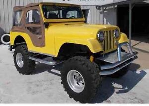 WANTED To Buy Jeep or Willys, CJ,