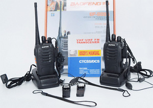 Walkie Talkie Radio 5W Portable Ham CB Radio Two Way  qty 2