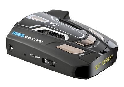 Cobra SPX 5500 14 Band  Radar/Laser Detector with DigiView Data & Voice Alert