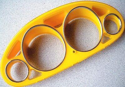 1994-2001 Acura Integra Euro Dash For Cluster Cover Trim Overlay Yellow & (Euro Dash Trim)