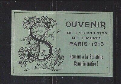 France 1913 Paris Exposition Cinderella Souvenir