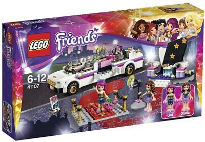 Retired LEGO Friends Set 41107 Pop Star Limo New In Box!