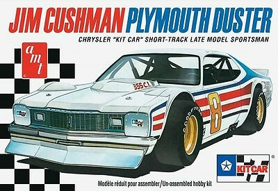 AMT 1:25 Jim Cushman Duster Short Track Kit Car Model Kit AMT924
