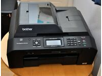 Brother Printer MFC-J5910DW Wireless Color Photo Printer with Scanner, Copier and Fax