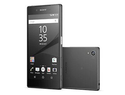 """Original Sony Xperia Z5 Compact E5823 32GB Black (Unlocked) Smartphone 4.6"""" 23MP"""