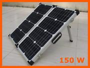 12v 150w Folding Solar Panel Kit Caravan Boat Camping Braeside Kingston Area Preview
