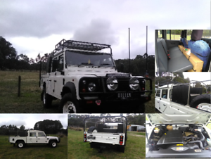 ''LOW KM'' LAND ROVER DEFENDER 130 ''HIGH CAPACITY''