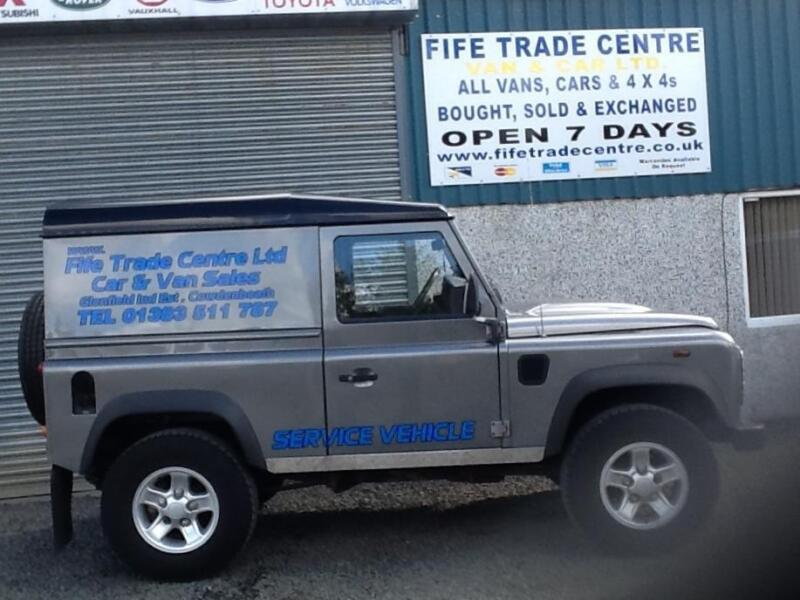 Fife Trade Van Car Centre Limited Used Commercial Truck Sales Used Commercial Trucks Dealer Cowdnebeath Fife