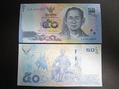 New!! Thailand P-New 2012 50 Baht Gem UNC