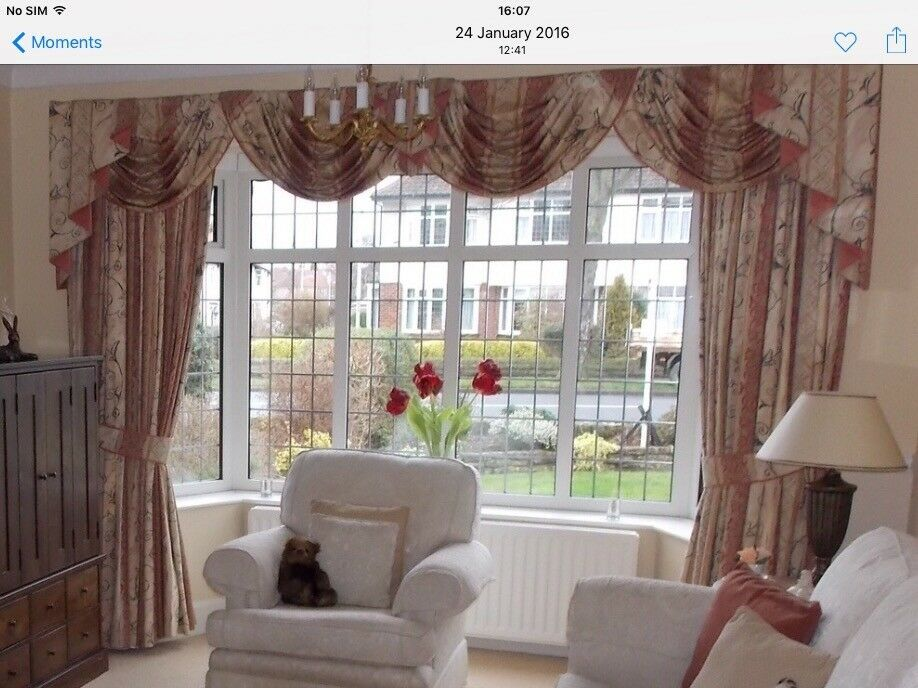 Lounge Dining Room Curtains 2 Pairs In Leyburn North Yorkshire