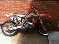 Gas Gas 300cc 2-stroke scram / motorcross