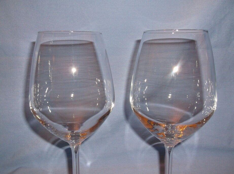 bormioli rocco cabernet wine goblets set of 2 magnesium pattern italy picclick. Black Bedroom Furniture Sets. Home Design Ideas